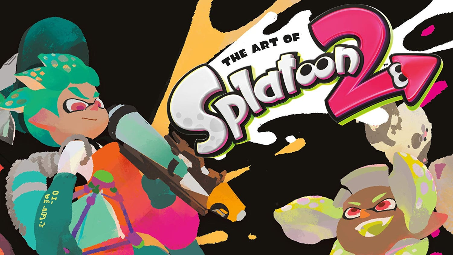 The Art Of Splatoon 2 Engelse Cover Art onthuld