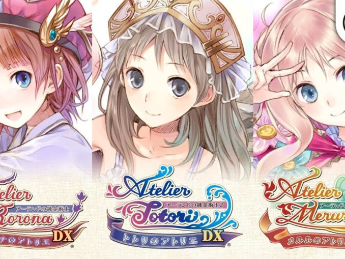 Nieuws - The Atelier Arland Series Deluxe Pack Launch Trailer