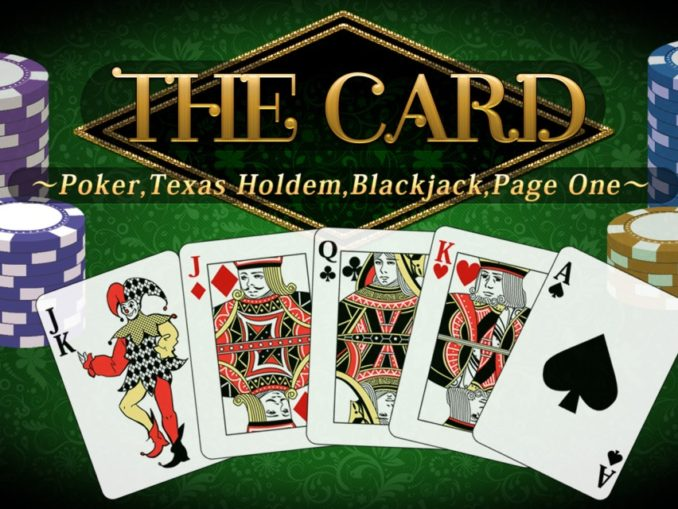 Release - THE Card: Poker, Texas hold 'em, Blackjack and Page One