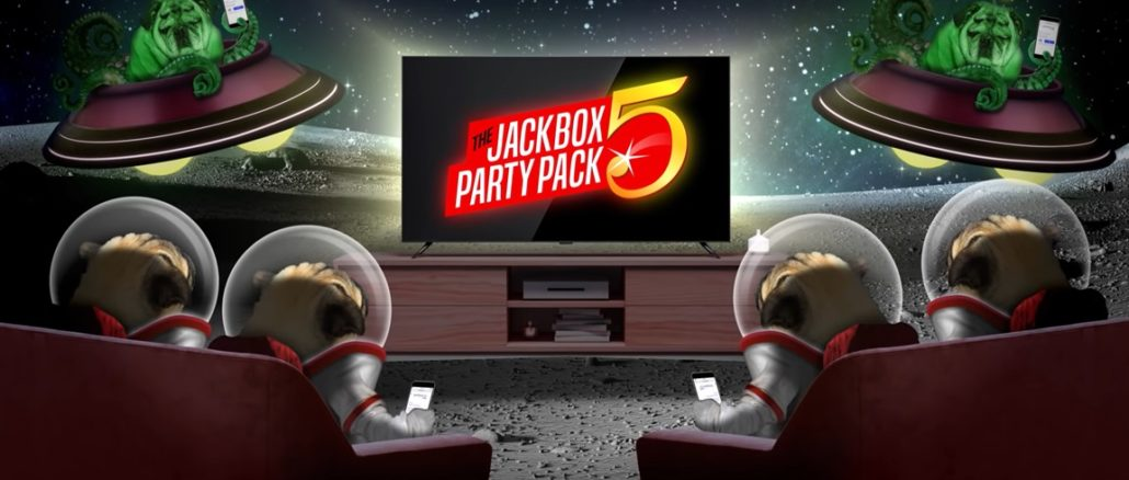 The Jackbox Party Pack 5 Split the Room en You Don't Know Jack