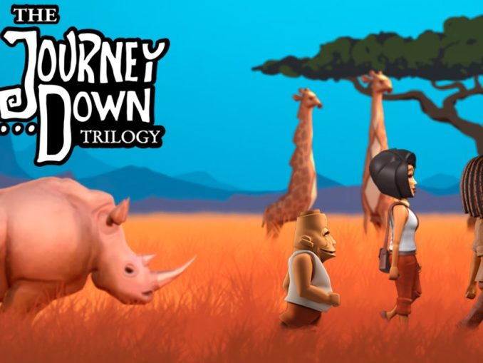 Release - The Journey Down Trilogy