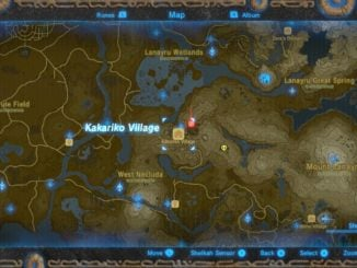 The Legend Of Zelda: Breath Of The Wild – Swapped village and forest