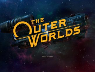 The Outer Worlds – Scheduled for Q1 2020 launch
