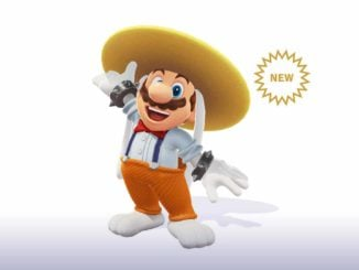 The Rango Hat & Suit are available in Super Mario Odyssey