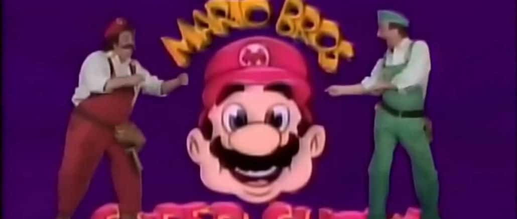 The Super Mario Bros Super Show on Netflix in the US