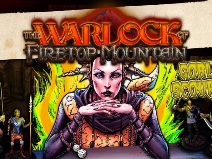 Release - The Warlock of Firetop Mountain: Goblin Scourge Edition!
