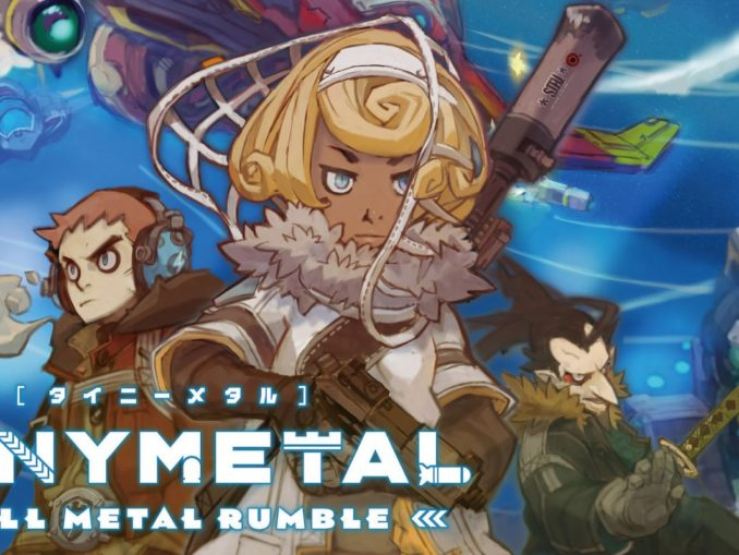 Nieuws - TINY METAL Full Metal Rumble System Trailer