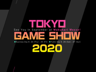 Tokyo Game Show 2020 – planned online – due to the COVID-19