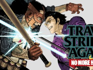 Travis Strikes Again: No More Heroes physical published by Nintendo