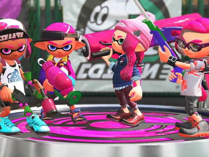Nieuws - Trek ten strijd met de Foil Flexroller in Splatoon 2
