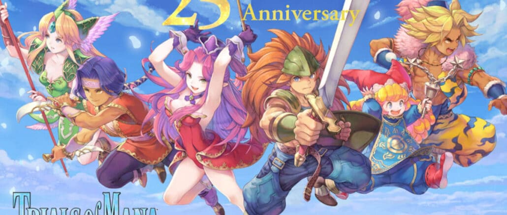 Trials of Mana – 25-jarig jubileum – Game-update, prijskortingen en meer