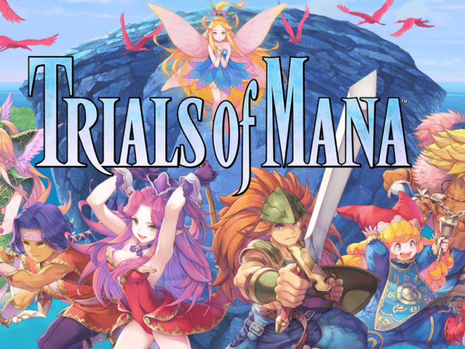 Release - TRIALS of MANA