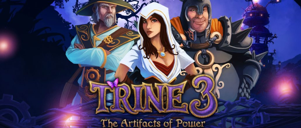 Trine 3: The Artifacts Of Power – 10-Minute Look