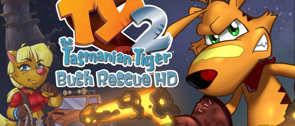 TY The Tasmanian Tiger 2: Bush Rescue HD Kickstarter