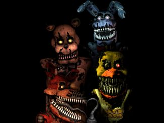 Five Nights At Freddy's 4 vermeld op de eShop