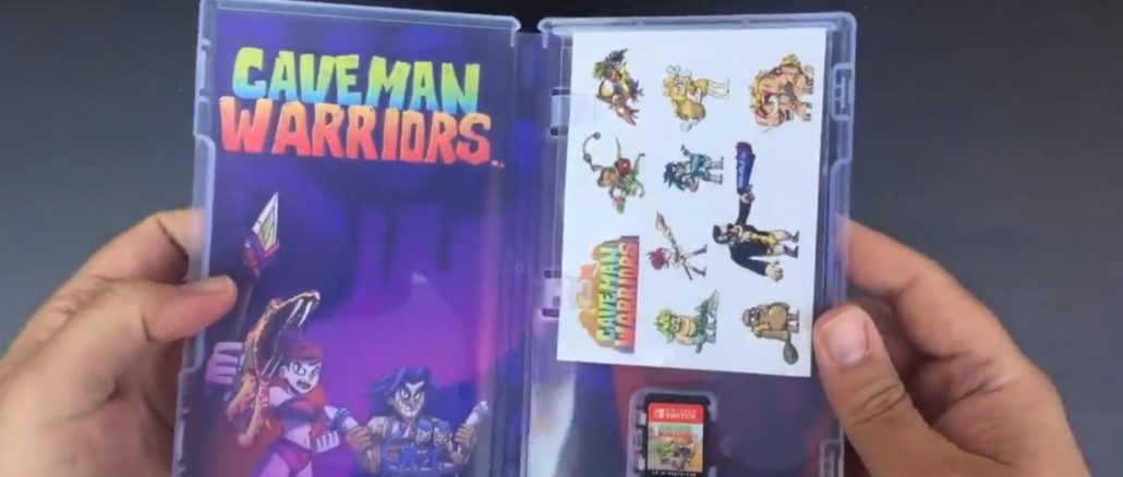 Uitpakken van Caveman Warriors: Deluxe Edition
