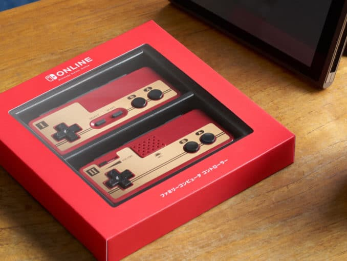 News - Unboxing Famicom Controllers