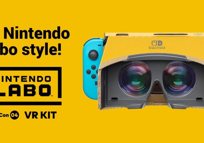 News - Unity supports Nintendo Labo VR Kit Toy-Con Goggles