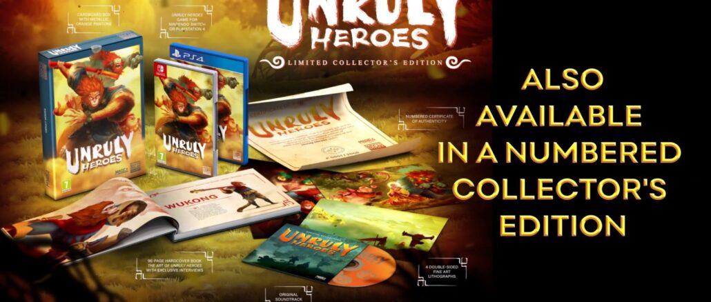 Unruly Heroes – Physical Release announced