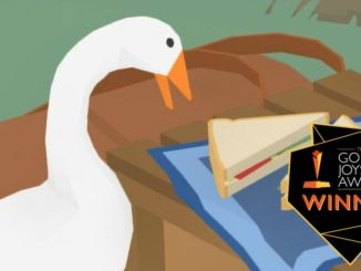 Untitled Goose Game dev wint 2019 Golden Joystick Breakthrough Award