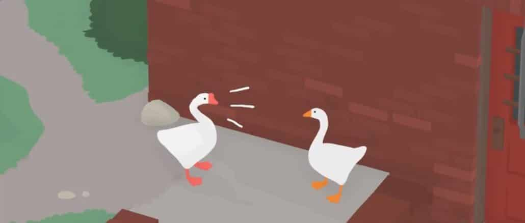 Untitled Goose Game – Second Goose different Honk