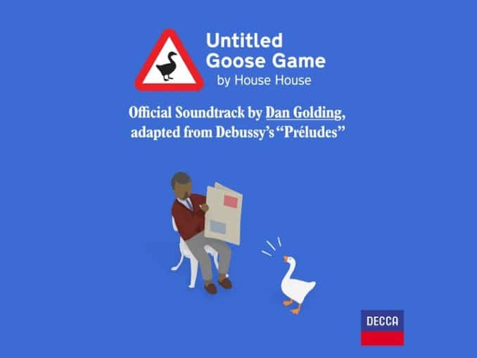 News - Untitled Goose Game – Soundtrack – Available to stream