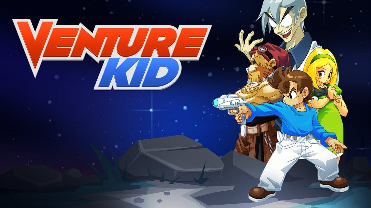 Venture Kid is een console exclusive!