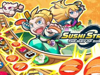 Verse Sushi staat centraal in Japanse trailer Sushi Striker