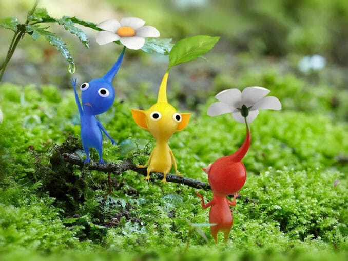 Nieuws - VG Tech: Pikmin 3 Deluxe demo runs at draait op 720p / 30fps in dock