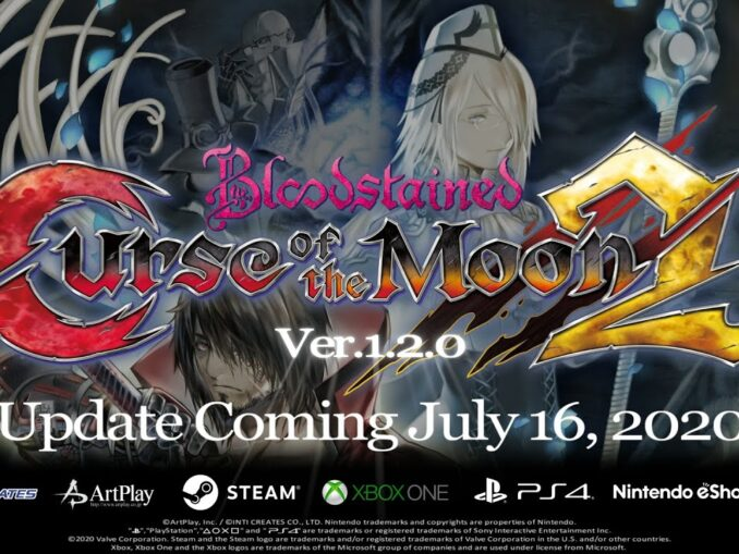 Nieuws - Bloodstained: Curse Of The Moon 2 – Versie 1.2.0, Boss Rush Mode en meer