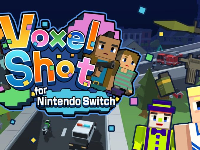 Release - Voxel Shot for Nintendo Switch