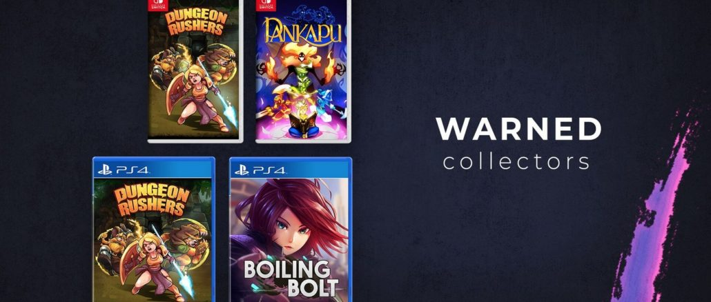 Warned Collectors – Games not in production