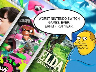 Which Nintendo Switch game is the worst from the first year?