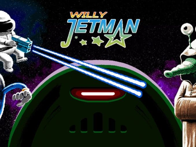 Release - Willy Jetman: Astromonkey's Revenge