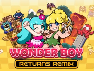 Release - WONDER BOY RETURNS REMIX