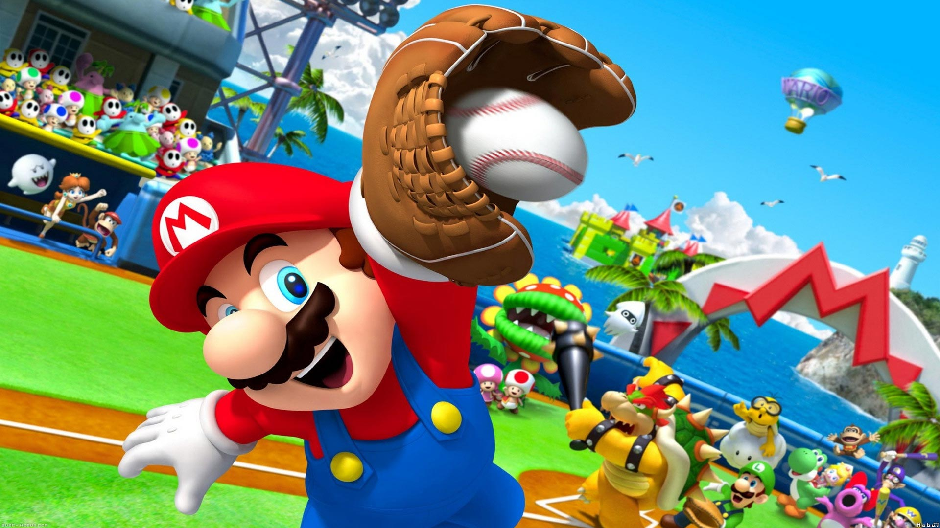 Workaholic Mario seems to have 7 jobs