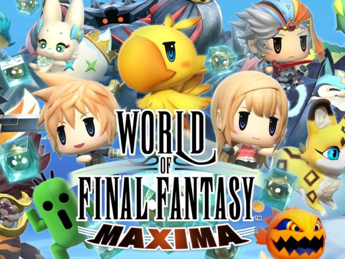 Release - WORLD OF FINAL FANTASY MAXIMA