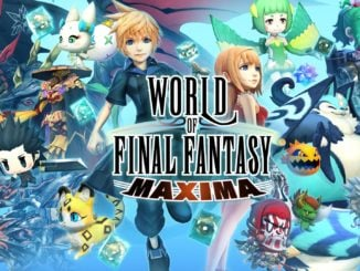 World Of Final Fantasy Maxima fysieke versie