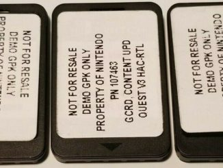 Writable game cards appear on eBay
