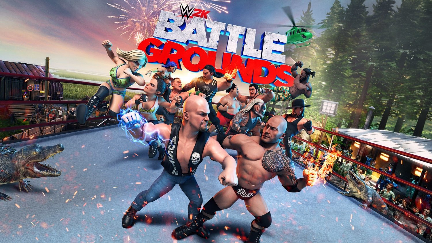 WWE 2K Battlegrounds – Eerste 20 minuten
