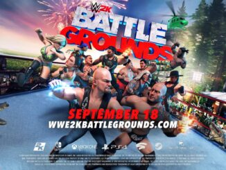 WWE 2K Battlegrounds komt uit op 18 September
