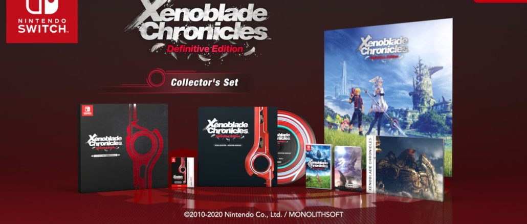 Xenoblade Chronicles Definitive Edition – Collector's Set heeft meer lekkers in Europa