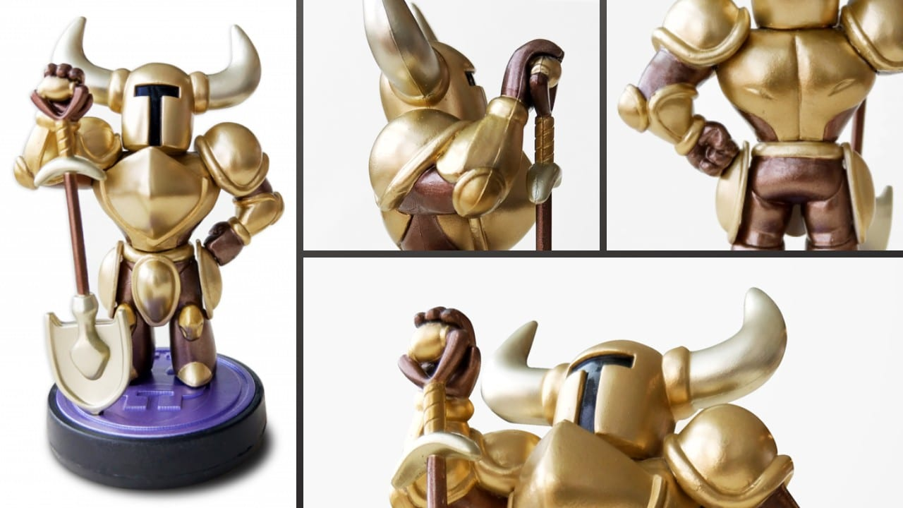 Yacht Club – Shovel Knight Gold Edition Amiibo onthulling