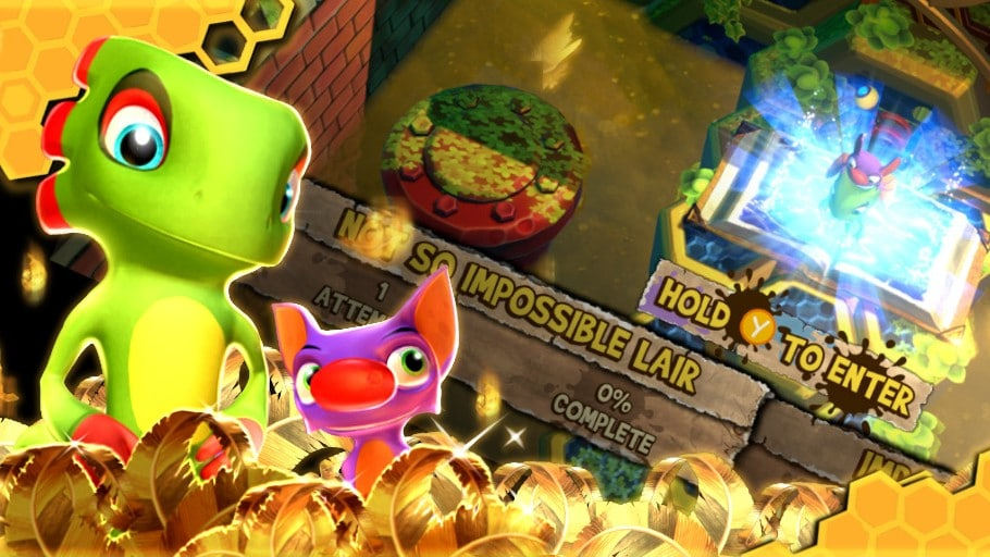 Yooka-Laylee And The Impossible Lair – April Update – Gemakkelijkere laatste level en 8-bits nummers