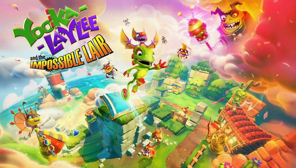 Yooka Laylee And The Impossible LairGameplay