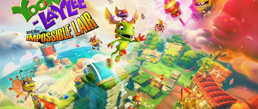 Yooka-Laylee And The Impossible Lair 8-Bit Soundtrack update
