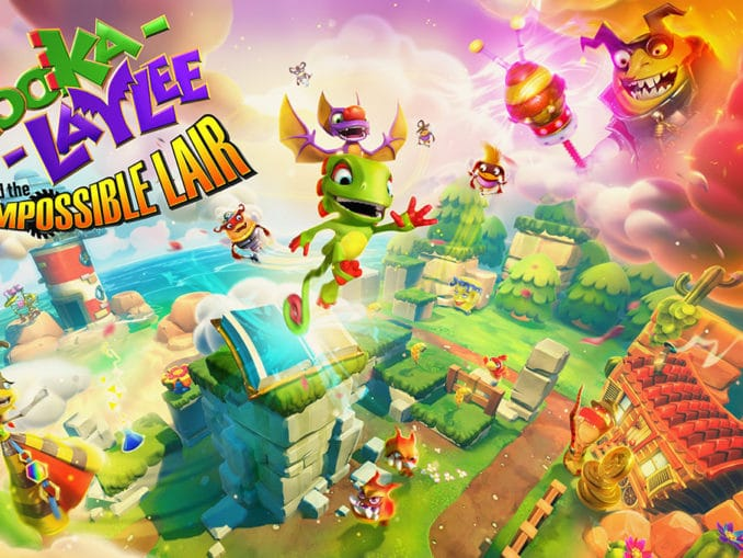 Nieuws - Yooka-Laylee And The Impossible Lair 8-Bit Soundtrack update