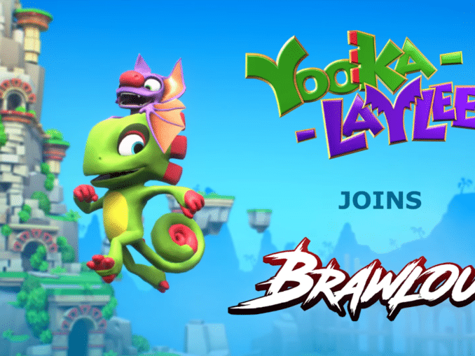 Nieuws - Yooka-Laylee; Speelbare personages in Brawlout
