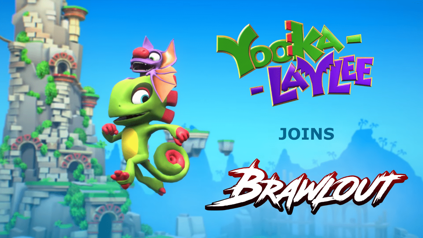 Yooka-Laylee; Playable characters in Brawlout