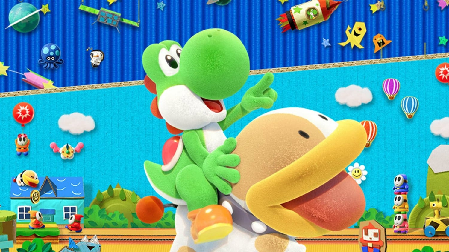 Yoshi's Crafted World – 101 Trailer